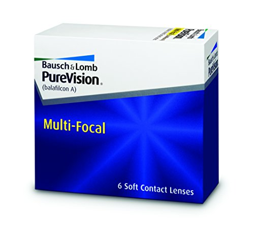 Purevision Multifocal Monatslinsen weich, 6 Stück / BC 8.6 mm / DIA 14.0 / HIGH ADD / -6,25 Dioptrien