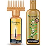 Indulekha Bhringa Hair Oil 100 Ml + Indulekha Bringha Anti Hair Fall Shampoo, 200ml