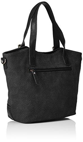 Tom Tailor Acc Damen Ciara Shopper, 35x26x13 cm Schwarz (schwarz 60)