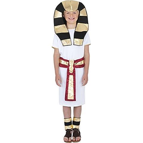 Smiffy's - Disfraz de egipcio para niño, talla S (4 - 6 años) (38656S)