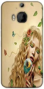 Snoogg Mother Nature 2661 Designer Protective Back Case Cover For HTC M9 Plus