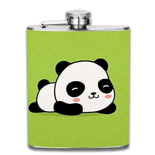 Stainless Steel Flask Ballon Panda Whiskey Flask Vodka Alcohol Flask Hip Flask for Men Unisex2 12 Oz Ballon