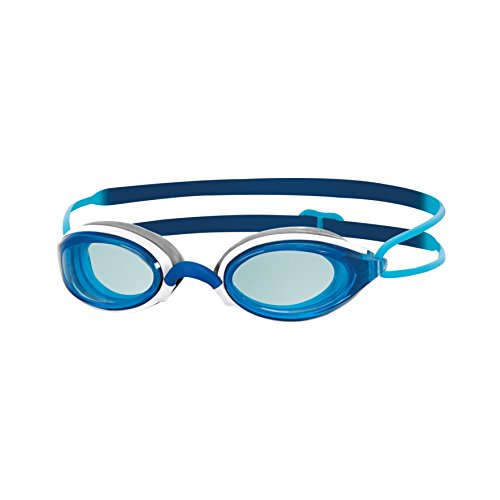 Licht, Linse, Dichtung (Zoggs Fusion Air Schwimmbrille, Navy/Blue/Tint, One Size)
