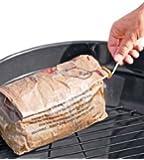 Big K - Carbone ad accensione istantanea per barbecue, 12 kg (12 borse da 1 kg)