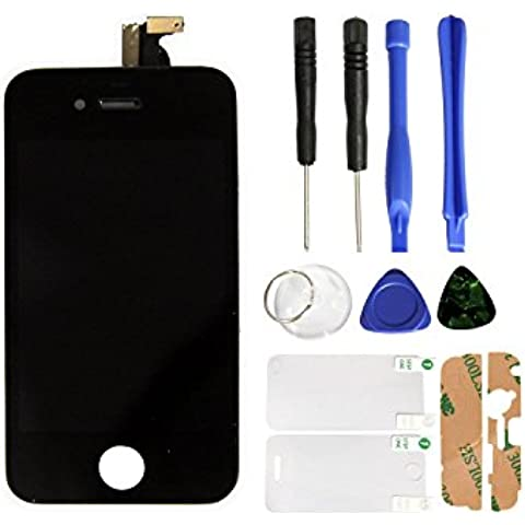 SKILIWAH® Pantalla táctil LCD para iPhone 4S