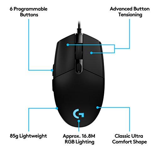 8f1ed3a1854 26% OFF on Logitech G102 Optical Gaming Mouse on Amazon | PaisaWapas.com