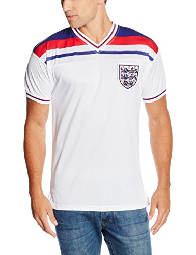 Men's Official England 1982 World Cup Final Shirt