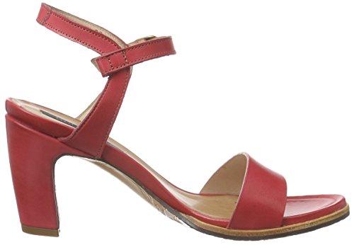 Neosens - Altesse, Scarpe col tacco con cinturino a T Donna Rosso (Rot (SCARLET))