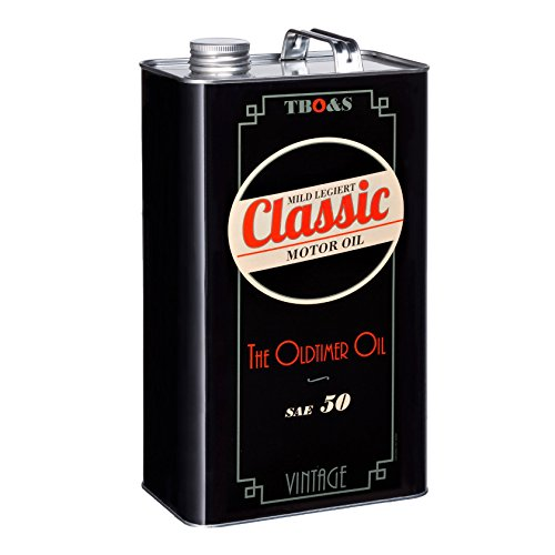 TBO&S Classic 5litri Motor Oil leggero legiert SAE 50Olio per d' epoca