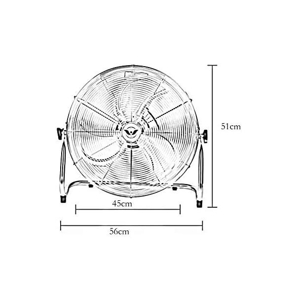 Sunny-Standing-Gym-Fan-Ventilador-De-Soporte-para-Suelo-Ventilador-De-Escritorio-Industrial-Restaurante-Escritorio-Ventilador-Adecuado-para-Muchas-Ocasiones-Tamao-16-Inches-45-cm