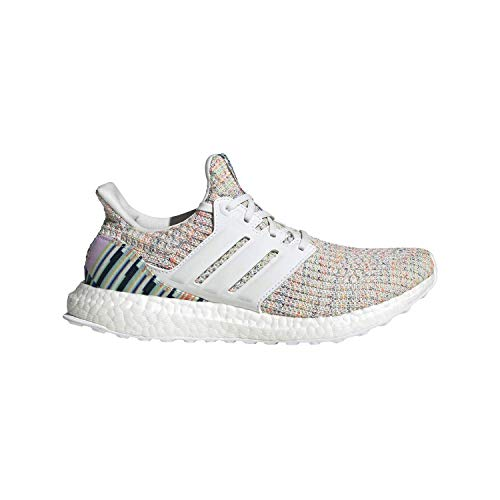 adidas W Ultraboost White/White/Grn Running Shoes (F34079)