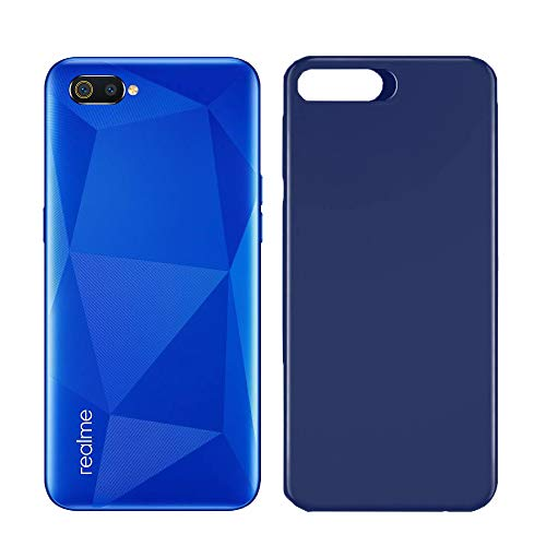 Macsoon Blue Back Cover for Realme C2