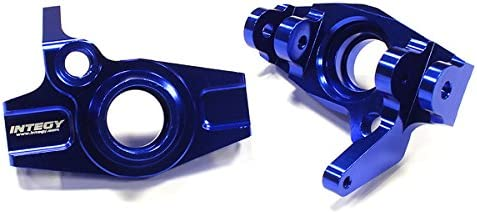 Integy RC Model Hop-ups T6699BLUE Snowmobile & Sandmobile Option Front Steering Blocks for Savage XL, Flux & X 4.6 | Outlet Store