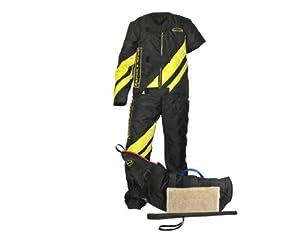 Dean & Tyler Pro Bundle Lot, Comprend Grandes Rayures Combinaison/Niveau de tri Bite Manches/Agitation bâton pour l'entraînement de Pousser Chiens