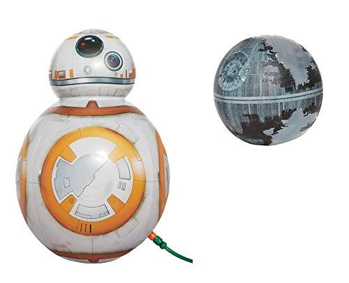 8 Sprinkler (Unbekannt Happy People 16352 Wassersprinkler Star Wars BB - 8 Droid (BB-8 + Todesstern II, 2))