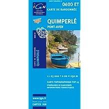 Quimperlé 1 : 25 000: Ign.0620et