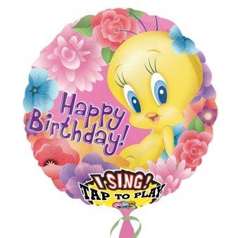 Generique - Ballon Aluminium Musical Looney Tunes