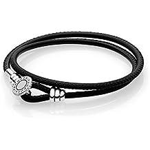 e3eec1a23add Pandora Pulsera cuerda Mujer plata - 597194CBK-D1
