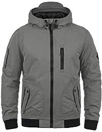 BLEND Marc Herren Winterjacke Bomber-Jacke mit Kapuze aus hochwertigem Material