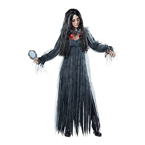 XIAOYUTOU Frauen Cosplay Halloween Kostüm Horror Ghost Dead Corpse Zombie Braut Kleid (Color : 1, Size : XL) (Party Stadt Maskenball Kostüm)