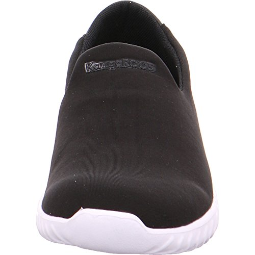 KangaROOS Unisex-Erwachsene Kaboo 9000 Slip On Sneaker Schwarz (Jet Black)