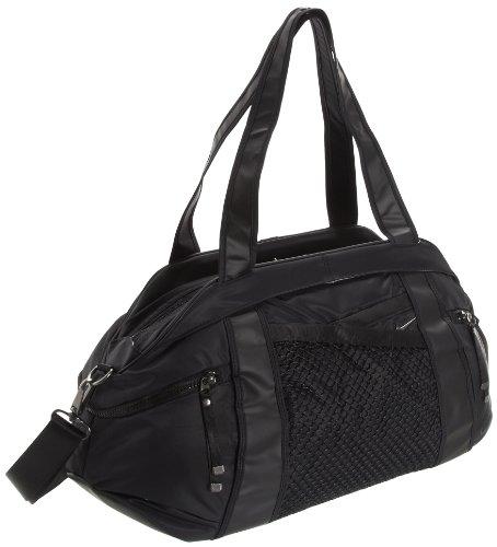 Nike Damen Sporttasche Victory Gym Club, Black/Black Nickel, 60 x 33 x 18 cm, BA4734
