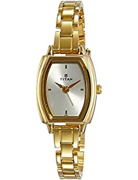 Titan Karishma Analog Gold Dial Women's Watch - NE9644YM09