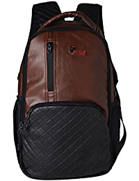 F Gear CEO 25 Ltrs Brown Laptop Backpack (2512)