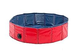 Karlie Hunde-Pool, Ø 160 cm, rot/blau