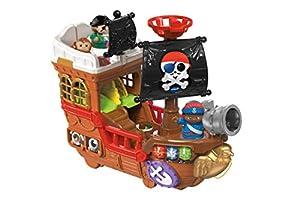 VTech Juguete de Barco Pirata, Multicolor, Toot Friends