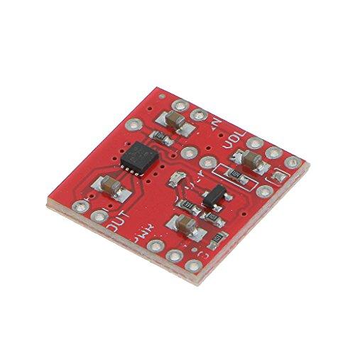 MagiDeal Tpa2005d1 Mono Audio Verstärker Breakout Audio Verstärker Board Rot -