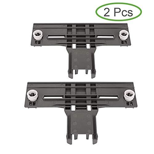 W10350376 Geschirrspüler obere Oberseite Rack Versteller Ersatzteil für Kenmore Kitchenaid Sears W10712394 AP5272176 PS3497383 (2 Stück) -