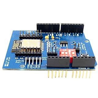 Fangfeen ESP8266 ESP-12E WIFI Wireless Shield Development Board Replacement for Arduino UNO R3 Circuits Boards Modules