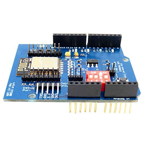Lorsoul ESP8266 ESP-12E WiFi Wireless-Schild Development Board Ersatz für Arduino UNO R3-Leiterplatten-Module