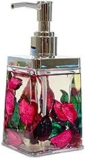Skywalk Plastic Liquid Soap Dispenser (6-inches, Multicolour)