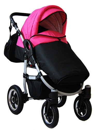 Pram pushchair Avaro Raf-pol swivel wheels travel system 2in1