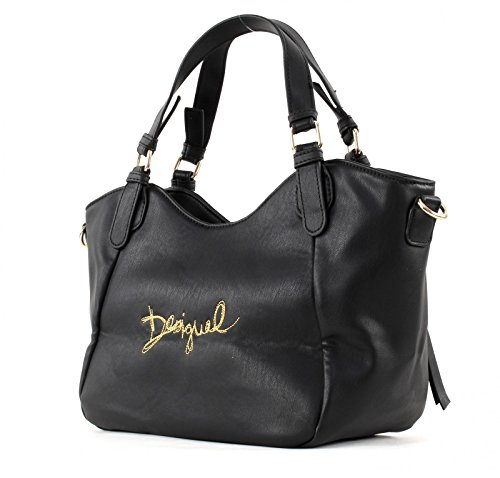 Desigual Rotterdam Mini Goldwork - Handtasche Negro