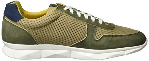 Camel Active Pyramid 11, Sneakers Basses Homme Vert (Army/Sand/Navy 02)