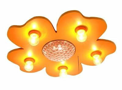 Niermann Standby LED Deckenleuchte Happy-Flower, gelb 673 von Niermann Standby auf Lampenhans.de