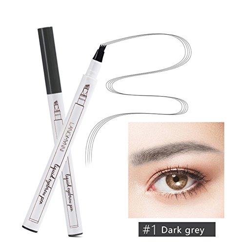 OYOTRIC Tattoo Eyebrow Pen Eyebrow Tattoo Long-lasting Waterproof Pen Eyebrow Pencil Eyebrows Shade Eyebrow Tint Kit (A01)