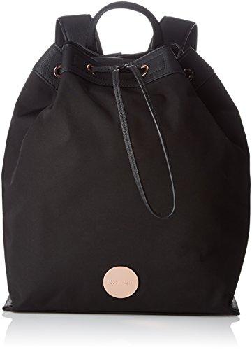 Calvin Klein ED1TH Backpack, Sacchetto Donna, Nero (Black), 14 x 40 x 34 cm (b x h x t)