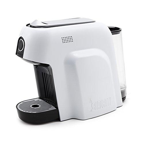 Bialetti Smart Macchina da caffè Espresso per Capsule in Alluminio, 1200 W, Bianco