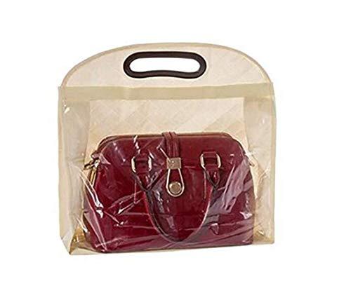 Vinyl Schuh Organizer (LOSOUL Staubschutztasche für Handtaschen, Geldbeutel, Schuhe, Aufbewahrung, Kleiderschrank, Tasche, Organizer)