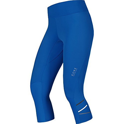 Gore Running Wear Mythos Lady - Malla pirata para mujer, color azul brillante, talla 38