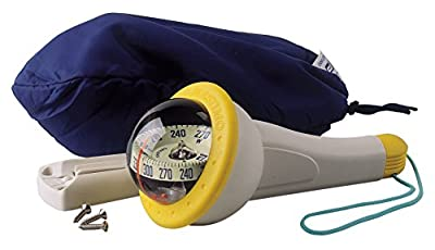 PLASTIMO Handpeilkompass Kompass Iris 100 gelb