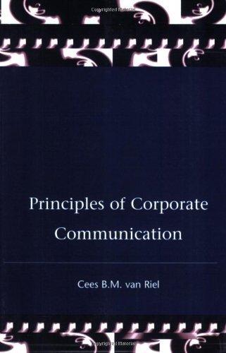 Principles of Corporate Communication by Cees Van Riel (1995-06-22)