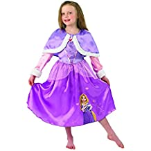 Rubie's - Disfraz Rapunzel Winter Wonderland para niñas, talla M, 116 cm, edad 5 - 6 años (I-889546M)