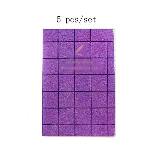 Liu Yu·Büroflächen, Büro Schreibwaren lila 80 Seiten Notebook 18K Notebook 5 Stück / Set -
