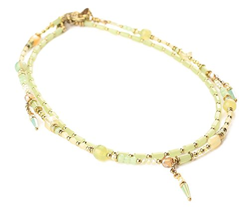 EXOAL Kette Exoal Collier TWO IN ONE SMALL,Lemon, Mint, Gold 1906-2.5