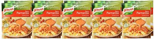 Knorr Spaghetteria Sauce Parmarosa Tomaten und Käse, 10er Pack (10 x 250 ml)